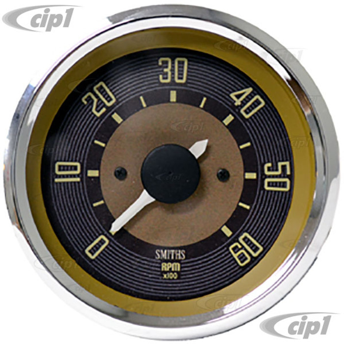 C34-EET3-1B32-88C – OE STYLE EARLY 12V IN DASH TACHOMETER – BUS TO 1967 - 80MM OR 3.15INCH DIAMETER