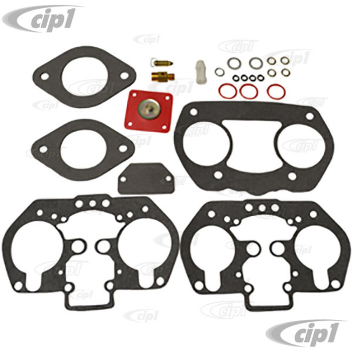 ACC-C10-5542 - WEBER / EMPI 2362 - 40MM & 44MM IDF / HPMX - CARB REBUILD KIT WITH LATE STYLE (5.5MM) TALL DIAPHRAGM SHAFT - SOLD EACH