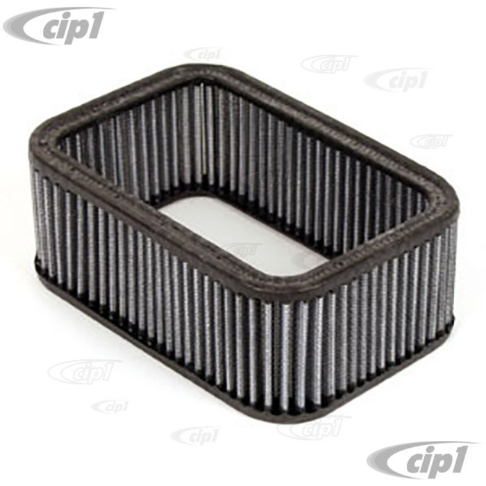 ACC-C10-5643 - WEBER REPLACEMENT RECTANGULAR AIR CLEANER ELEMENT 2 1/2 INCHES HIGH