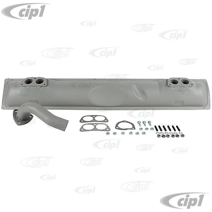 P-021-251-053-C - (021251053C) OE STYLE REPLACEMENT MUFFLER KIT - 914 17-2000CC - SOLD EACH