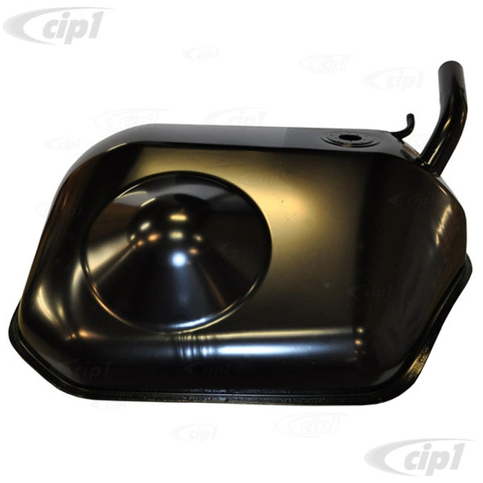 P-901-201-010-30 - (90120101030) - 100 LITRE FUEL/GAS TANK - CORROSION RESISTANT ALUMINIZED STEEL - PAINTED SEMI-GLOSS BLACK - PORSCHE 911/911 65-73 (911 74-89 MODIFICATIONS REQUIRED) - SOLD EACH