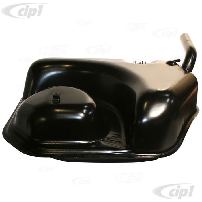 P-930-201-010-02 - (93020101002) - 85 LITRE FUEL/GAS TANK - CORROSION RESISTANT ALUMINIZED STEEL - PAINTED SEMI-GLOSS BLACK - PORSCHE 911 - 74-89 - SOLD EACH