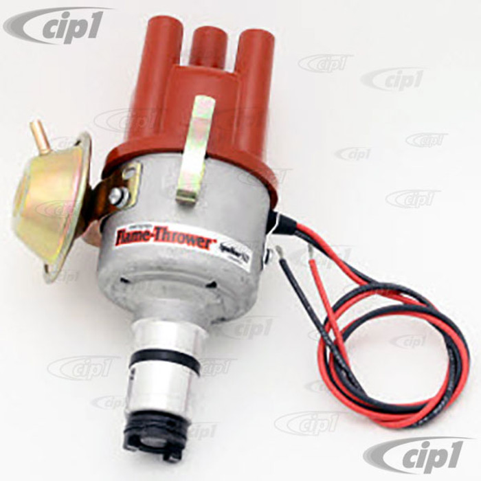 PER-D7182504 - IGNITOR III PERTRONIX VACUUM ADVANCE (SVDA) DISTRIBUTOR - COMPLETE WITH IGNITOR III IGNITION MODULE INSTALLED - ALL BEETLE STYLE ENGINES