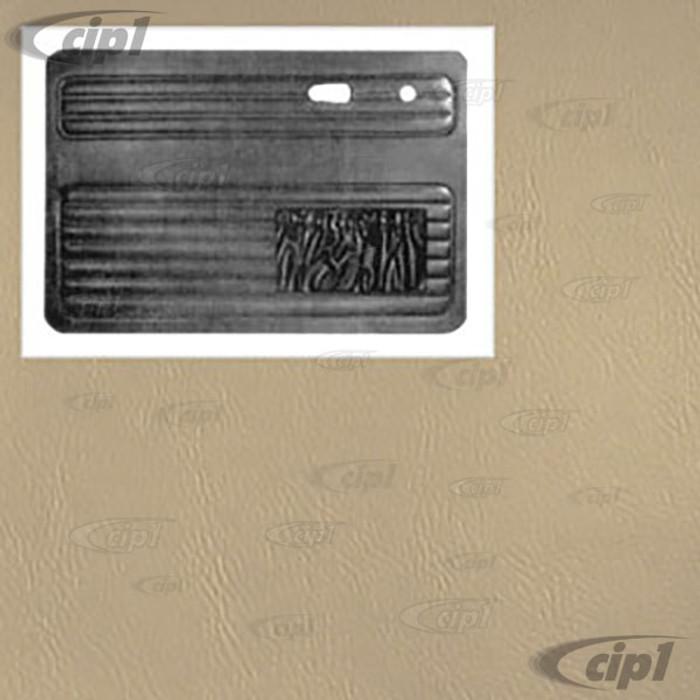 T10-1007-15 - 56-64 BEETLE FRONT DOOR PANEL PAIR - OFF-WHITE - (A20)