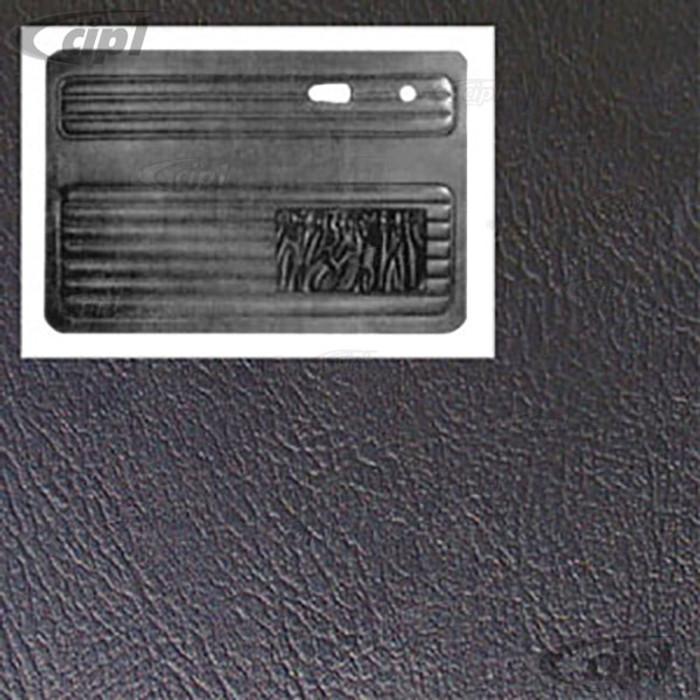 T10-1009-11 - 67-79 BEETLE FRONT DOOR PANEL PAIR - BLACK - (A20)
