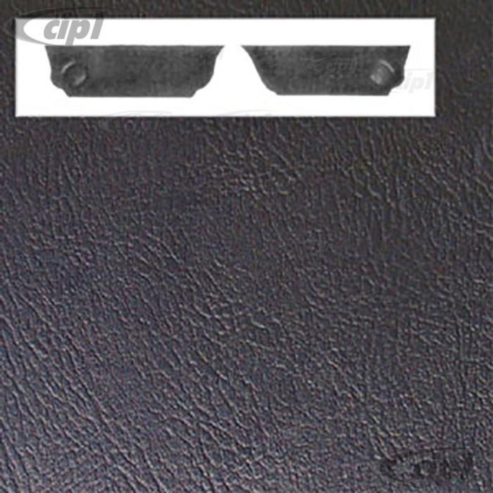 T10-1021-11 - BEETLE SEDAN REAR KICK PANELS -  63-77- BLACK