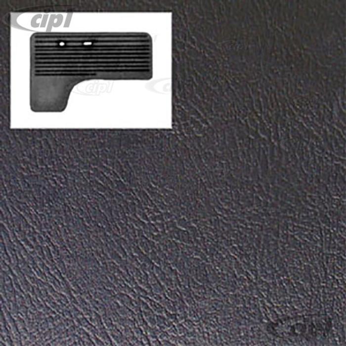 T10-2102-11 - 68-79 BUS FRONT DOOR PANELS 2PC - BLACK - (A20)