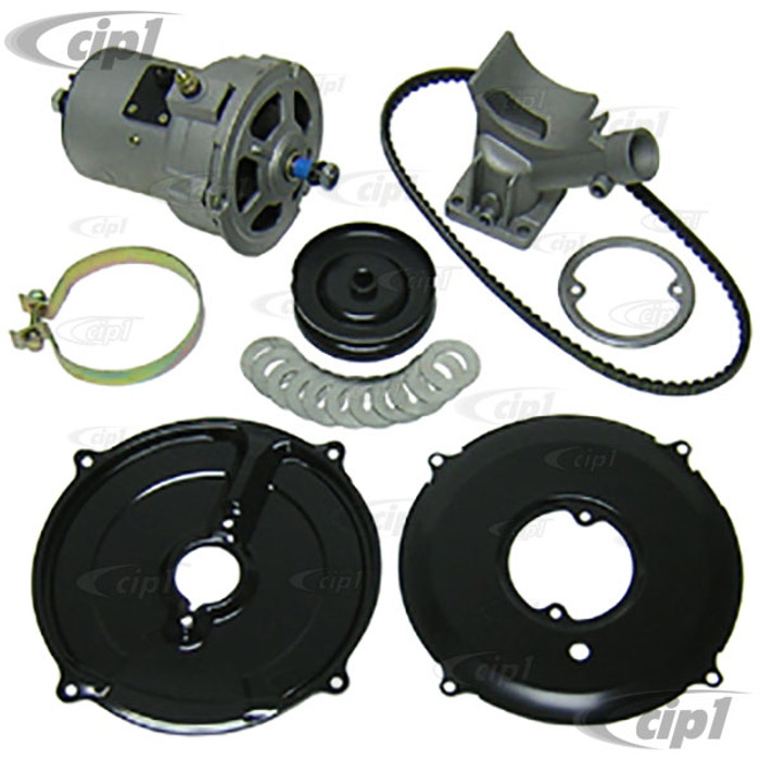 ACC-C10-5750-KT - (043-903-023-A 043903023A) EMPI 9444 9446 - DELUXE HIGH OUTPUT ALTERNATOR CONVERSION KIT - FOR ALL 12-1600CC BEETLE/GHIA STYLE ENGINES - SOLD EACH