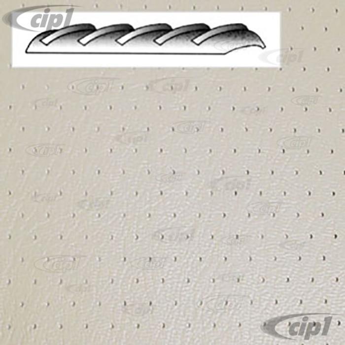 T20-2102-44 - 64-67 BUS HEADLINER - OFF-WHITE PERFORATED VINYL