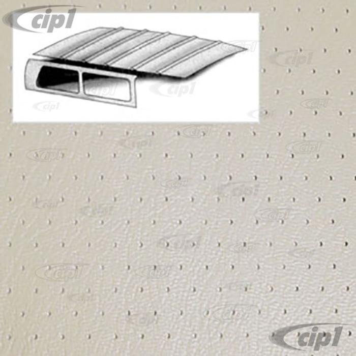 T20-3111-44 - 64-74 TYPE 3  SQUAREBACK HEADLINER - OFF-WHITE PERFORATED VINYL