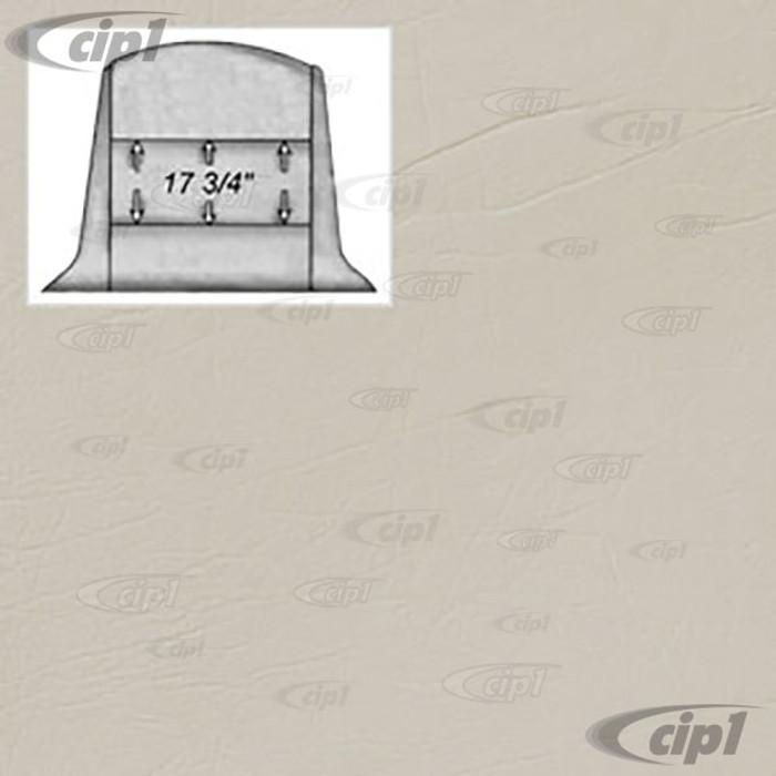 T20-4130-48 - WHITE CRUSH VINYL HEADLINER - RABBIT CONVERTIBLE 80-81