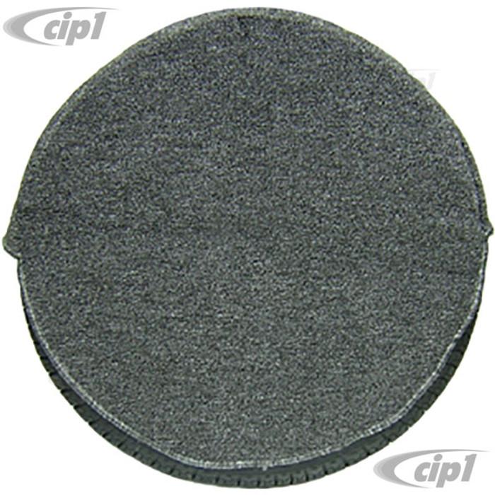 T34-C1150-407 - TIRE COVER SALT & PEPPER LOOP CARPET FITS ALL 165 X 15 TIRES