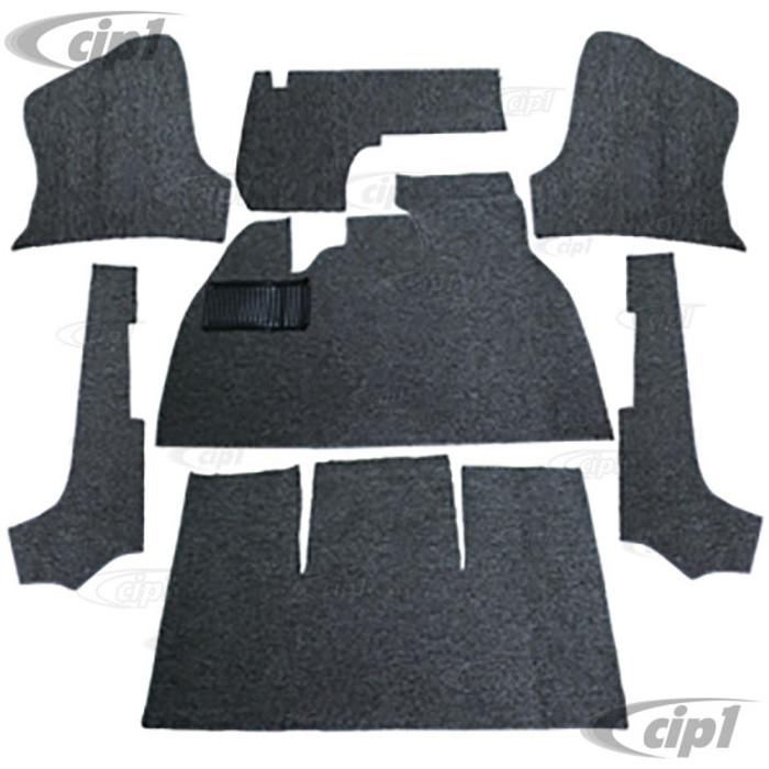 T34-F1330-407 - 69-70 STANDARD BEETLE CONV. - 7PC SET - SALT & PEPPER W/ FOOTREST