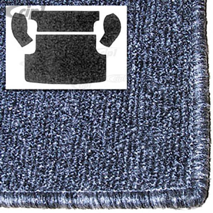 T34-R3134-407 - REAR CARGO AREA CARPET KIT - 4 PIECE - GREY - 62-73 TYPE-3 SQUAREBACK