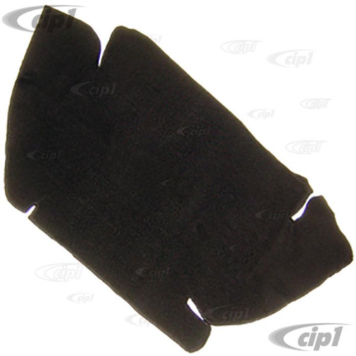 T34-T1152-301 - 60-67 BEETLE FRONT TRUNK CARPET KIT - BLACK LOOP PILE - SOLD EACH