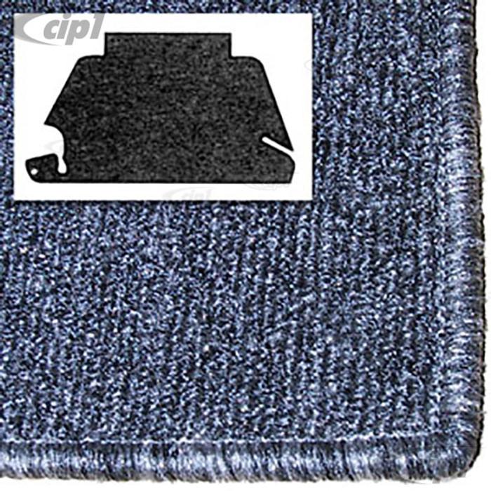 T34-T1153-407 - 68-78 STD BEETLE FRONT TRUNK CARPET KIT - SALT&PEPPER GREY