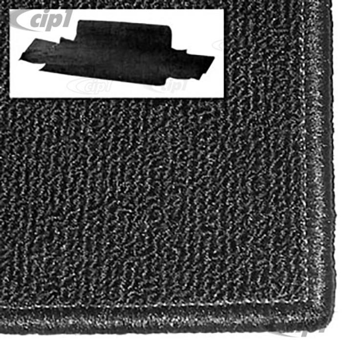 T34-T1558-301 - 68-74 GHIA FRONT TRUNK CARPET KIT - BLACK