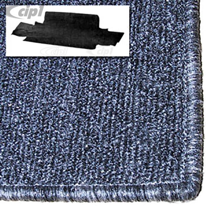 T34-T1558-407 - 68-74 GHIA FRONT TRUNK CARPET KIT - SALT&PEPPER GREY