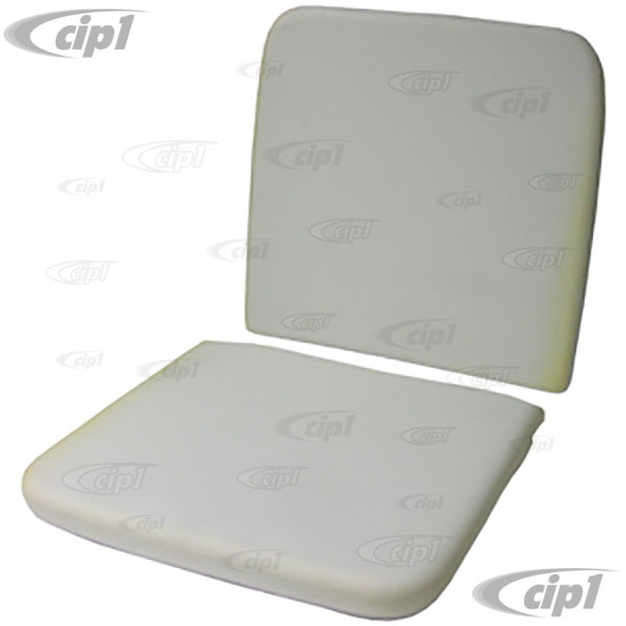 T43-2002 - BUS 62-67 FRONT BUCKET SEAT PADDING - BOTTOM & BACK 1 EACH