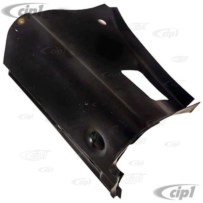 TAB-400-491 - (111-805-351-E 111805351E) ECONOMY QUALITY - A-POST DOOR 3 BOLT HINGE PILLAR LOWER REPAIR SECTION - LEFT - 62-79 BEETLE - SOLD EACH