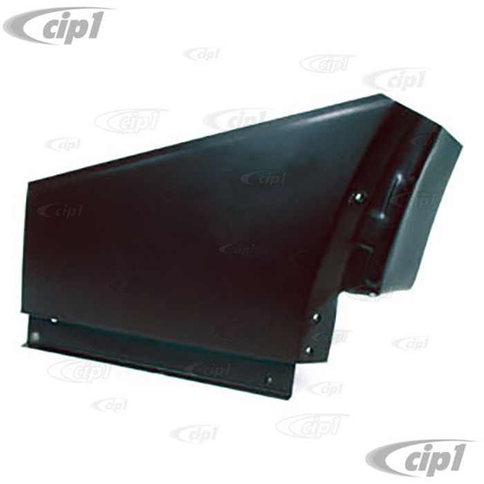 TAB-400-501 - (111-809-085-C 111809085C) REAR QUARTER PANEL SECTION - 13 INCHES HIGH - LEFT - BEETLE 46-79 - SOLD EACH