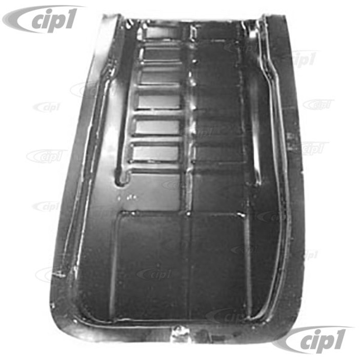 TAB-400-731-M - BATTERY TRAY AREA 24 X 15 inch LEFT SIDE UNDER REAR SEAT- BEETLE 46-72 - (A5)