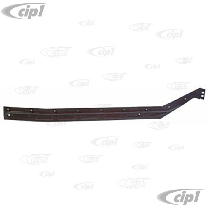 TAB-400-772 - RIGHT HEATER CHANNEL BOTTOM PLATE - SUPER BEETLE 71-79 - (A20)