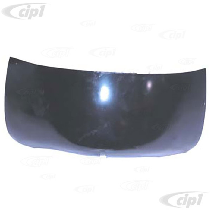 TAB-401-530 - (211-813-355 211813355) REAR CORNER PANEL - 10 INCHES HIGH (PAINTED BLACK) - LEFT OR RIGHT - BUS 50-67 - SOLD EACH