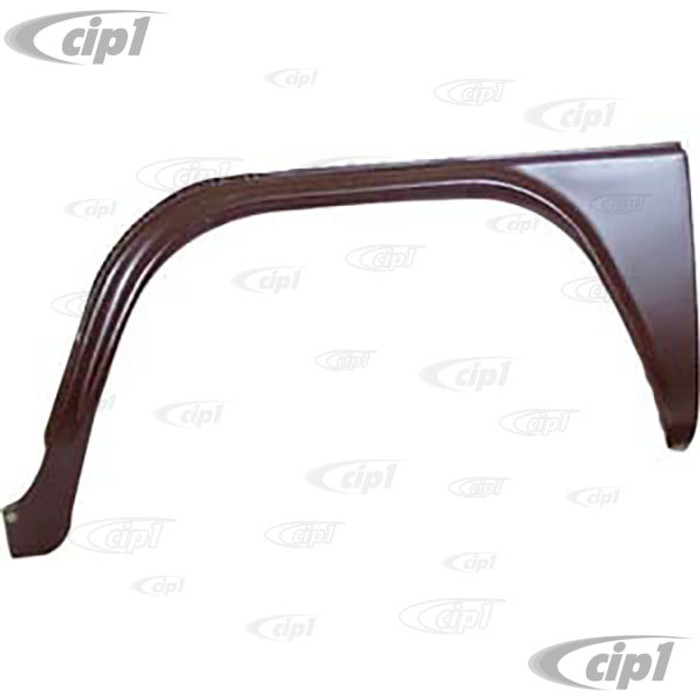 TAB-402-221 - (211-809-503-F 211809503F) MADE IN DENMARK - FRONT WHEEL ARCH OUTER SKIN WITHOUT STEP - LEFT - BUS 73-79 - SOLD EACH