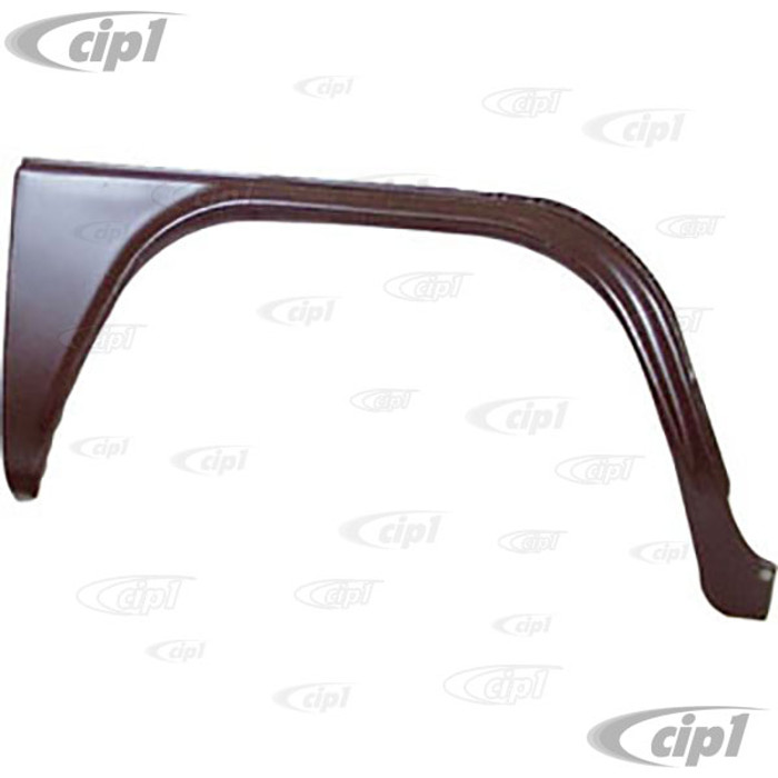TAB-402-222 - (211-809-504-F 211809504F) MADE IN DENMARK - FRONT WHEEL ARCH OUTER SKIN WITHOUT STEP - RIGHT - BUS 73-79 - SOLD EACH