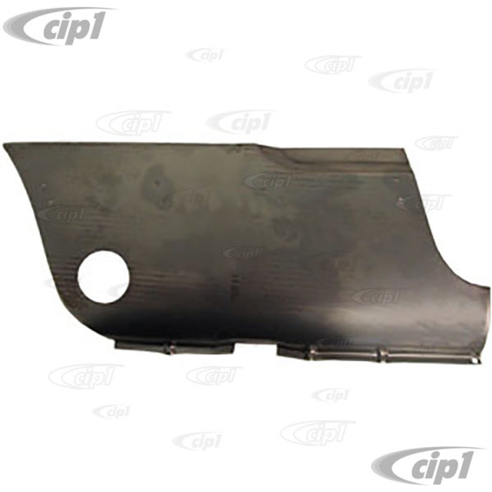 TAB-404-502 - (141800452 141-800-452) OUTER SKIN LOWER FRONT OF WHEEL SECTION - RIGHT - 20 IN. LONG - 9 IN. HIGH - GHIA 56-71 - SOLD EACH