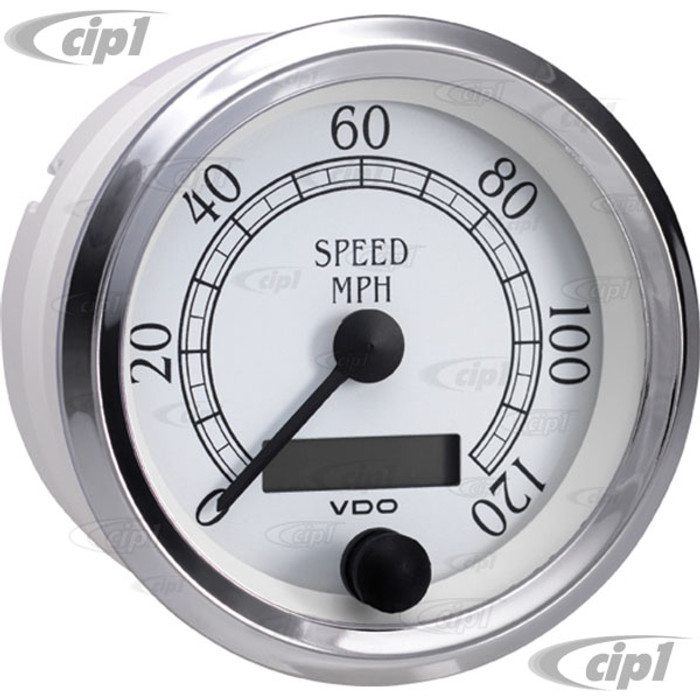 VDO-437-752 - 437752 - ROYALE PROGRAMMABLE SPEEDOMETER-120 MPH-3-3/8 IN. (85MM)