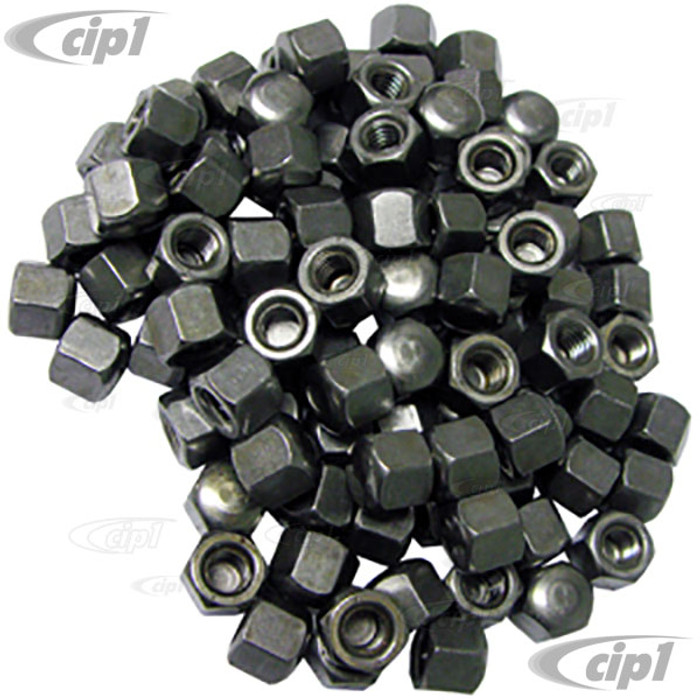 VHD-N11-0624-100 - CAP OIL DRAIN PLATE NUTS - ALL 12-1600CC BEETLE STYLE ENGINES - BAG OF 100