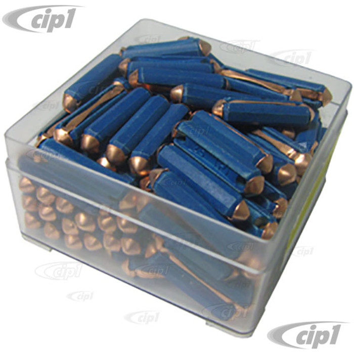VHD-N17-1215-100 - BOX OF 100 FUSES - 25 AMP BLUE -SOLD BOX OF 100