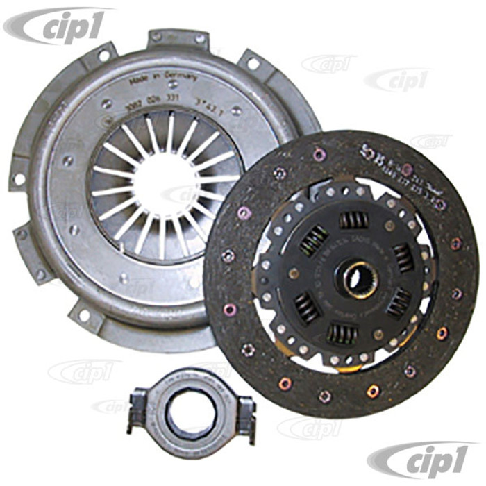VWC-021-140-025-GKIT - (022-141-025-G 022141025G) OE QUALITY 210MM CLUTCH KIT - PRESSURE PLATE / CLUTCH DISC / THROW OUT RELEASE BRG - BUS/VAN 72-12/74 1700CC - SOLD KIT