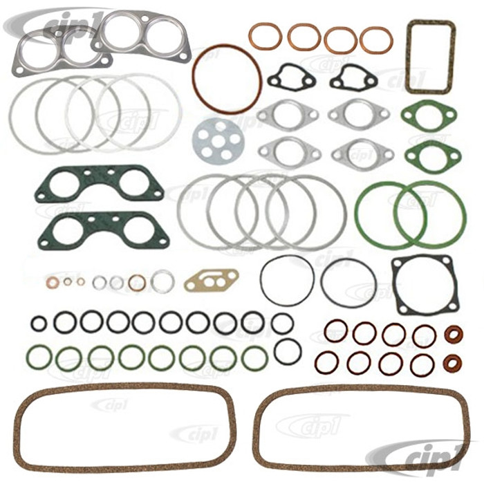 VWC-021-198-009-BGR - (021198009B) MADE IN GERMANY - ENGINE GASKET SET - 1700CC (CASE BOLT VIBRATION DAMPERS/PULLEY SEAL/FLYWHEEL SEAL ARE NOT INCLUDED) BUS 72-73 - SOLD KIT