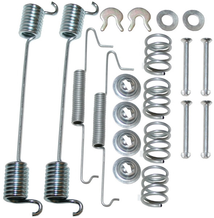 VWC-021-698-526 - (021698526 211698003A 17178) - BRAKE HARDWARE AND SPRING KIT - REAR - BUS 64-70 - SOLD EACH