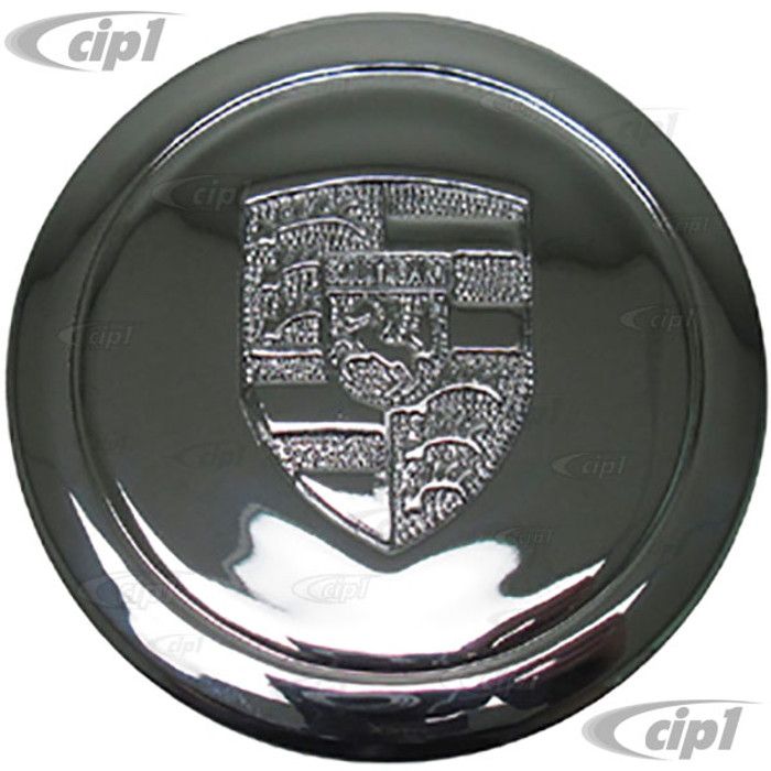 ACC-C10-6602-P - CHROMED PLASTIC CENTER CAP FOR 911 STYLE AND GAS-BURNER WHEEL (FIT 70MM DIA. HOLE) - SOLD EACH