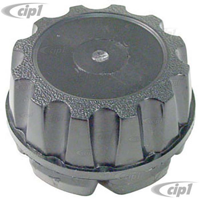 ACC-C10-6613 - REPLACEMENT BLACK PLASTIC CENTERCAP FOR EMPI STYLE 8 SPOKE & RIVIERA WHEELS