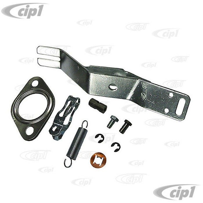 VWC-043-298-148-A - (043298148A) HEATER BOX LEVER KIT RIGHT - BEETLE 63-74 / GHIA 63-74 / BUS 63-71 / THING 73-74 - SOLD EACH