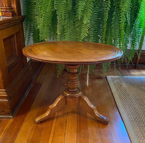 Small Round French Table