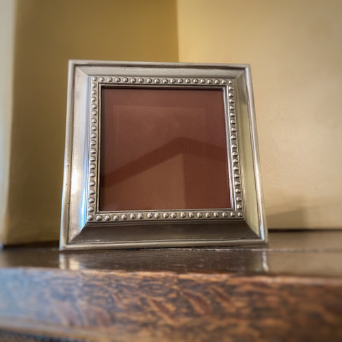 Veneto Square Pewter Frame, Medium