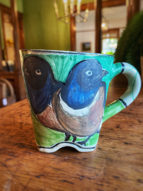 Ceramic Mug - Superb Starling