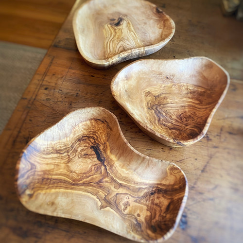 Olive Wood Serving Plate