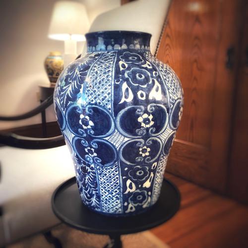 Antique Ceramic Vase - Mexican
