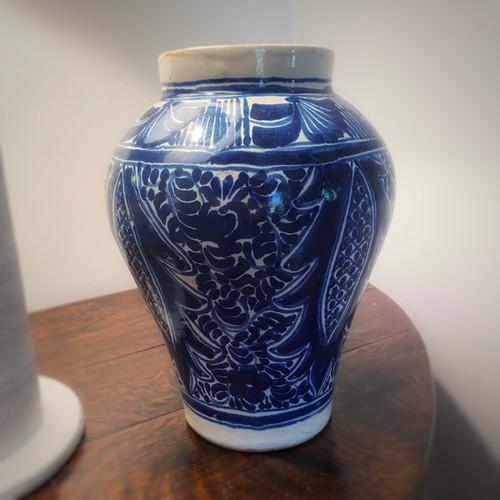 Antique Ceramic Vase - Spanish