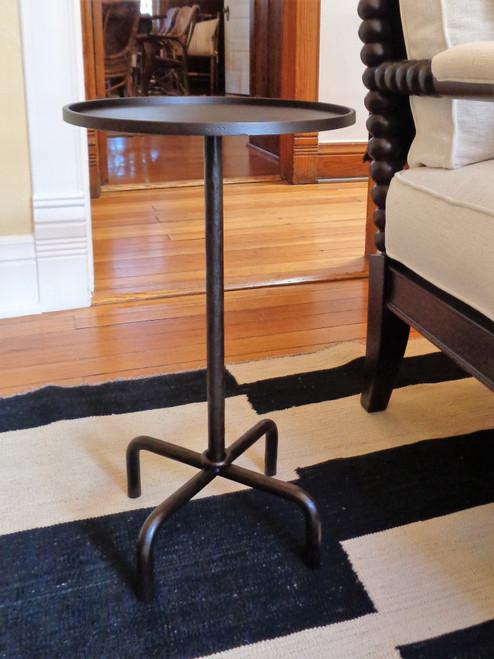 """V&R Custom Iron Table -- 13""""D"""