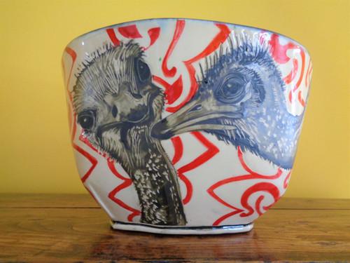 Niswonger XXLarge Bowl -- Ostrich