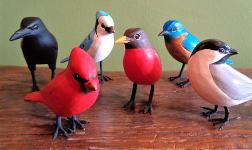 Standing Birds