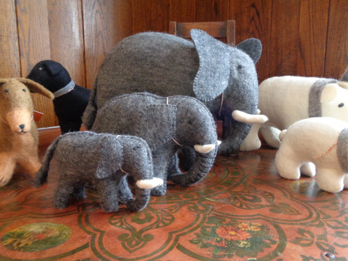 Hand Felted Stuffed Animals -- Giant
